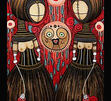 """""""Duo and the Divine Advocates of the disembodied eye"""" by Julielukearts"""