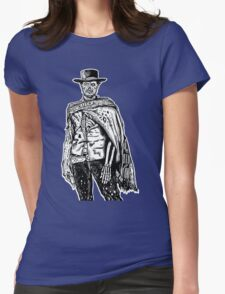 The Good The Bad and The Zombie Womens Fitted T-Shirt