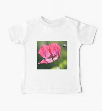 Poppy and Bumble Bee Baby Tee