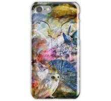 Dragon fly and owl iPhone Case/Skin