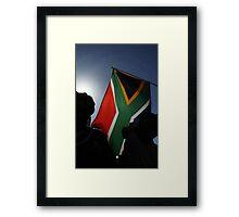 Soccer World Cup 2010: Vuvuzela Day Framed Print