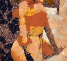 Klimt Kiss by Mary Bassett Sticker