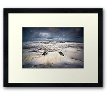 It's Frothy Man! Framed Print