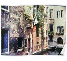 Picturesque Venice Poster