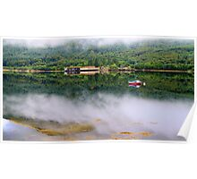 Misty   Loch Long    Argyll Poster