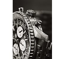 Chronograph Photographic Print