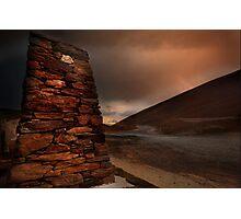 Crown Range Monument Photographic Print
