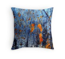 Fireflies by the Lake Throw Pillow