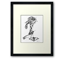Venus Eye Trap Framed Print