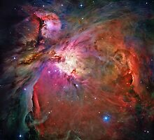 Orion Nebula by haast