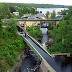  Bridges at Hverud Sweden by HELUA