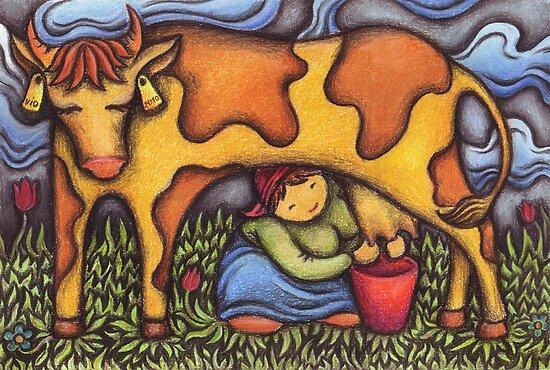 Dairymaid by VioDeSign