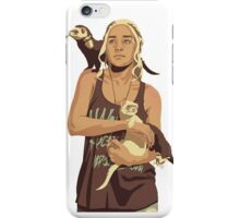 80s Daenerys Targaryen iPhone Case/Skin