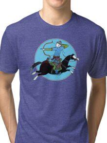 Mongolian Warrior Tri-blend T-Shirt