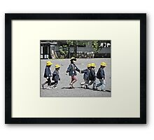 friends through cold and flu Framed Print