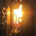 Paros shopping by sunset by kelliejane