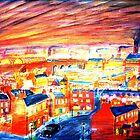 City Dawn by Ron Easen