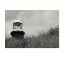 Spurn Point Lighthouse, East Yorkshire Art Print