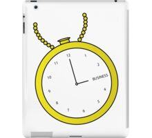 Business Time iPad Case/Skin