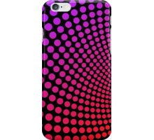 Psychedelic Polka Dots Pattern iPhone Case/Skin