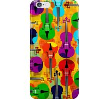 VIOLINS ALL OVER iPhone Case/Skin