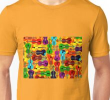 VIOLINS ALL OVER Unisex T-Shirt