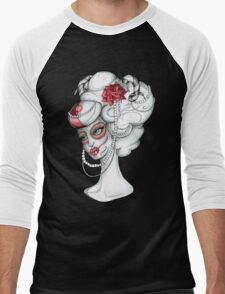 Lady Sugar Horn 'Lady of Wealth and Power' Men's Baseball ¾ T-Shirt