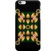 good as gold rose pattern with medallians iPhone Case/Skin