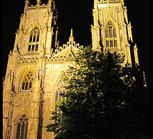 York Minster by night by kelliejane