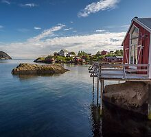 Nusfjord, Norway by thomasgeoffray