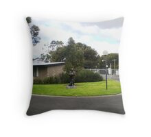 University of Melbourne Veterinary Clinic Throw Pillow