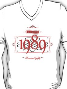 Since 1989 (Red&Black) T-Shirt