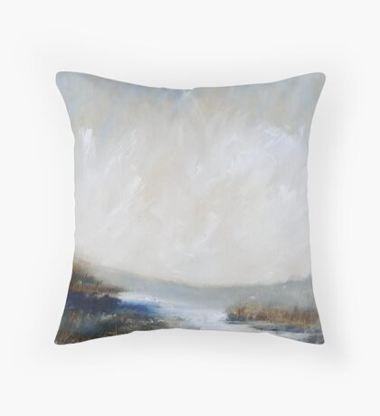 North Yorkshire Moors Throw Pillow