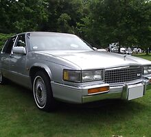Silver Cadillac Seville Car 80's by Dawnsuzanne