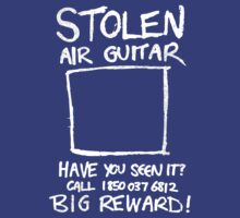 Music T-Shirts: Stolen Air Guitar by Diesel Laws