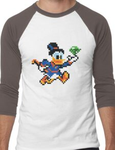 Scrooge Mcduck  Men's Baseball ¾ T-Shirt