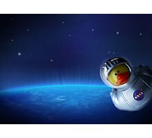 Maurice in space Photographic Print