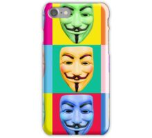 GUY FAWKES PROTEST iPhone Case/Skin