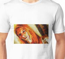 Demoness by Sarah Kirk Unisex T-Shirt