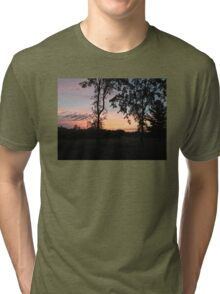 Tranquility in June Tri-blend T-Shirt