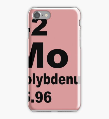 Molybdenum Periodic Table of Elements iPhone Case/Skin
