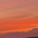 August sunset by Russell Couch