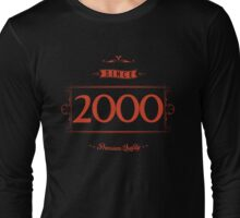 Since 2000 (Red&Black) Long Sleeve T-Shirt