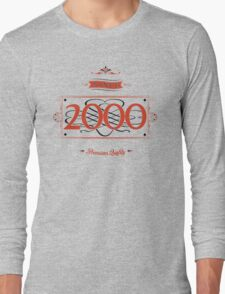 Since 2000 (Red&Black) T-Shirt