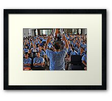 Go Forth And Spread The Love Of Christ Framed Print