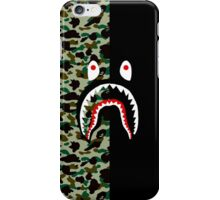 ORIGINAL BAPE CAMO / SHARK ON BLACK iPhone Case/Skin