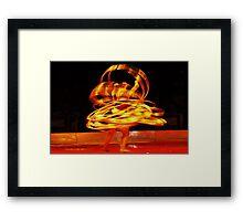 Motion Marvel Framed Print