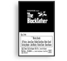 The Blockfather Canvas Print