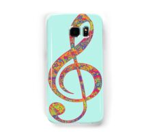 Psychedelic Music note 2 Samsung Galaxy Case/Skin