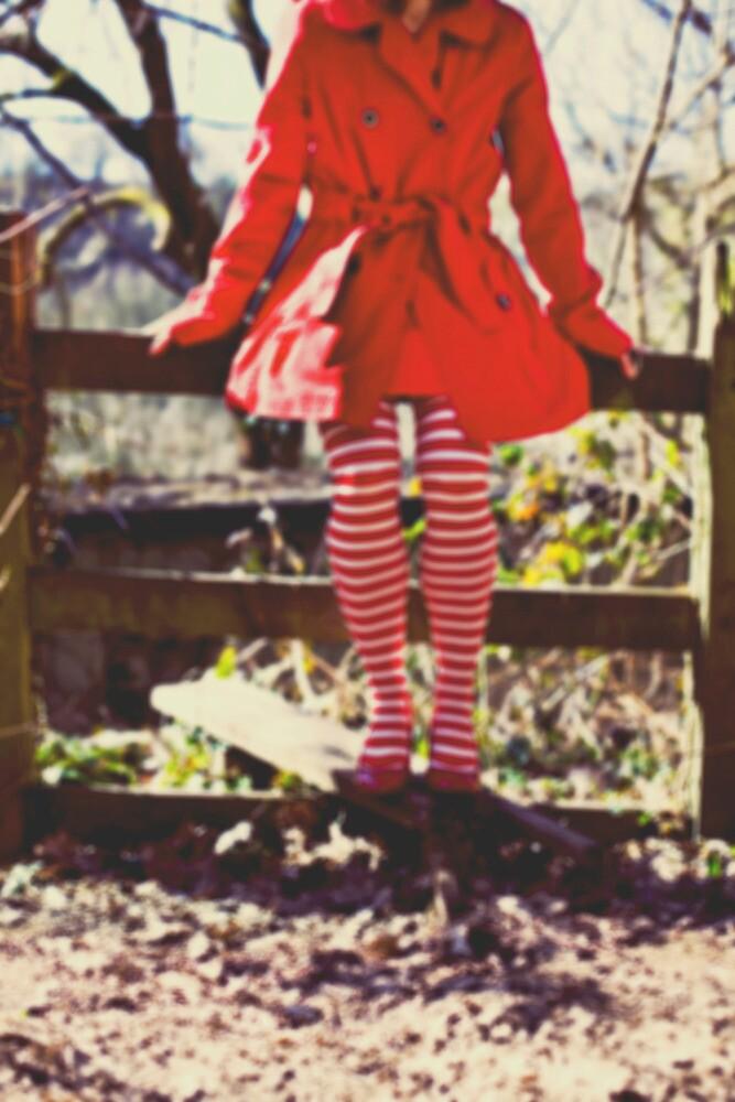 Stripy socks  by Sharonroseart